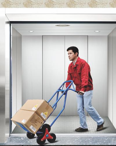مصعد الشحن بدون أثاث