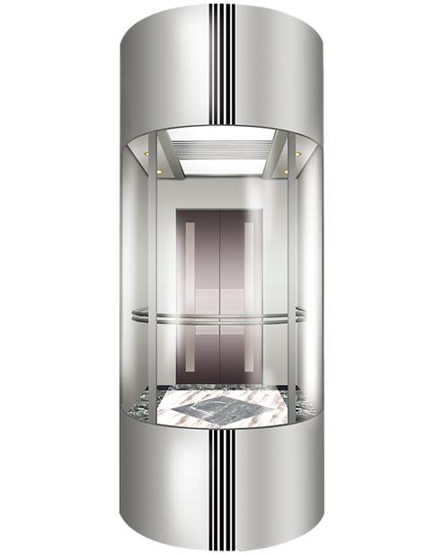 بانورامي مصعد سيارة الديكور SSE-G002