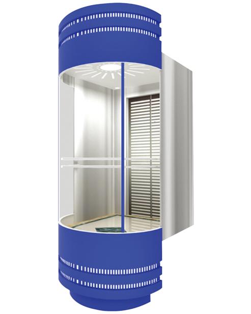 بانورامي مصعد سيارة الديكور SSE-G003