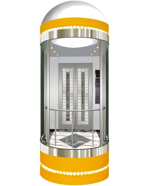 بانورامي مصعد سيارة الديكور SSE-G008
