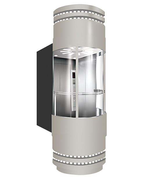 بانورامي مصعد سيارة الديكور SSE-G010