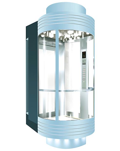 بانورامي مصعد سيارة الديكور SSE-G012