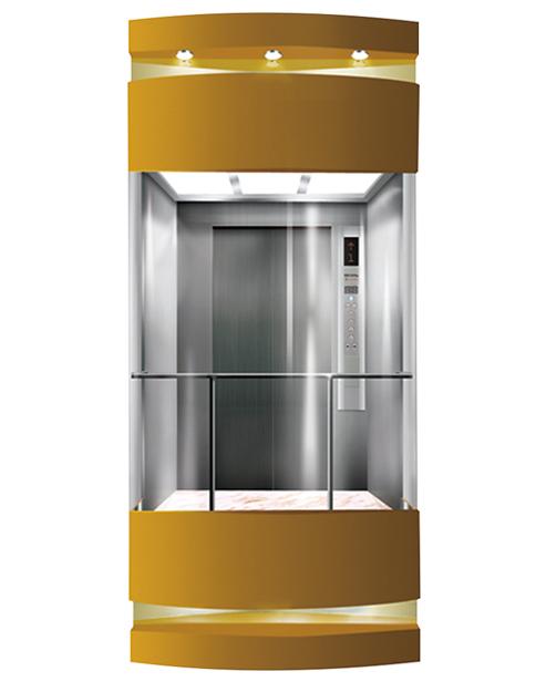 بانورامي مصعد سيارة الديكور SSE-G014