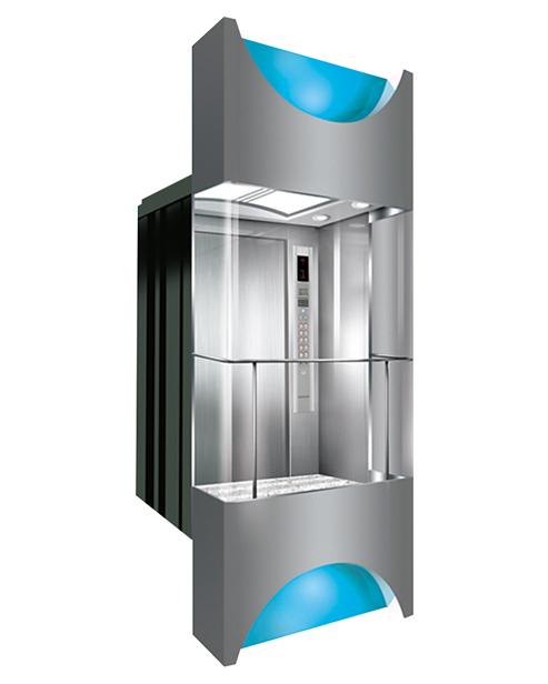 بانورامي مصعد سيارة الديكور SSE-G016