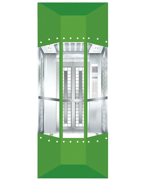 بانورامي مصعد سيارة الديكور SSE-G020