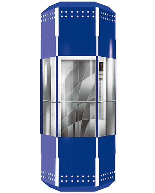 بانورامي مصعد سيارة الديكور SSE-G021