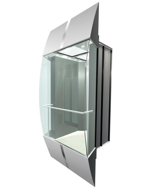بانورامي مصعد سيارة الديكور SSE-G024