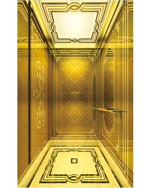سيارة ركاب مصعد سيارة الديكور SSE-J047